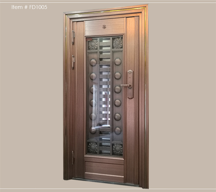 Sus304 Residential Safety Entry Stainless Steel Door ...