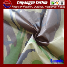 polyester oxford military camouflage fabric textile