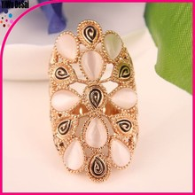Women jewelry glass ring for women acrylic ring Wholesale