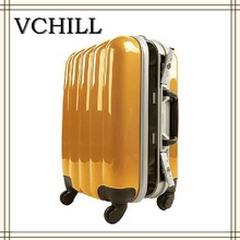 aluminum frame hand luggage with wheels