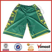 camo designed basketball shorts/custom sublimated shorts