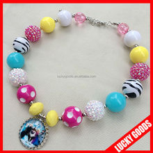 kids present hot sale handmade fashion beaded necklaces