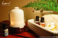 HA860 real wood and glass ultrasonic aroma diffuser