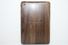 Hot Selling High Quality Walnut Wood Wooden Case for iPad Mini Bamboo Case