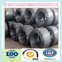 mill supply low carbon steel hot rolled wire rod reinforcing steel rebar