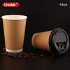 coffee paper cup with plastic lid/hot chocolate coffee cup with plastic lid