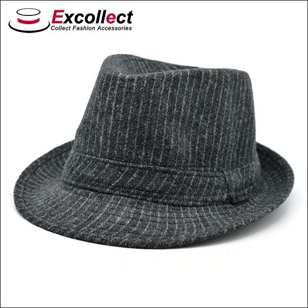 cool style black stripe pattern felt hat cheap fedora hats
