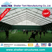 Indoor sport tent for football,sport hall tent for sale export Macedonia