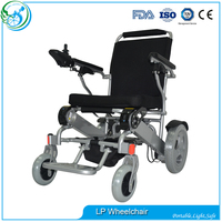 Folding Commode Lightweight Wheelchair For Disabled