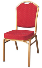 Hot sale stackable wholesale Good quality stainless steel wedding chair,banquet chair