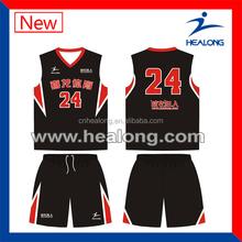 basketball uniform set,camouflage basketball uniform