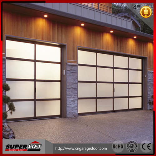 Sectional glass garage door buy sectional glass garage for Sectional glass garage door