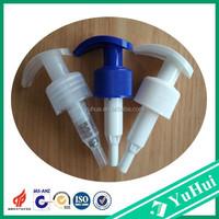 China good plastic new design 28mm shampoo bottle lotion pump