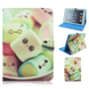 Cute Cotton Candy Daurable Stand Flip PU Leather Cover Case For iPad 2/3/4