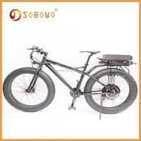 1500W black frame 26*4.0 electric motorcycle uk