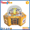 2015 Newest Project Family Arcade Claw Happy Crane Machine For Sale
