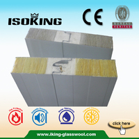 China Glass Wool Sandwich Panel Roofing