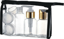 WK-T-1 Travel Bottle Sets / travel bottle kit / travel bottle