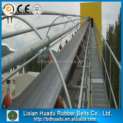 EP 5ply rubber conveyor belt or polyester conveyor belt for coal, cement factory,steel plant