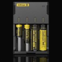 The orginal sysmax Nitecore flashlight intelligent I4 Charger lithium aa AAA battery charger cheap free shipping