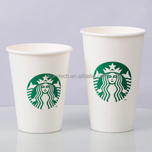Starbucks Disposable Paper Cup With Lid And Sleeve PPF-16OZ