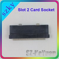 New Repair Parts Slot 2 for GBA Card Socket for NDS Lite
