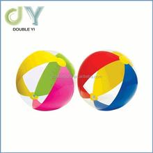 Custom good price wholesale Fashional Gradient Color PVC Free Beach Ball Printed Beach Ball