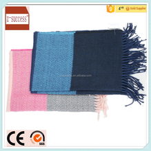 Soft feel thick and long winter acrylic lady scarf