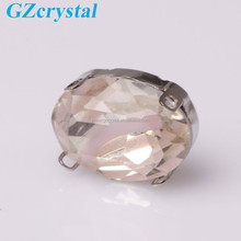 Decorative shoe accessory fancy crystal stones for clothing
