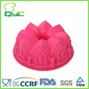 Non-stick Food Grade Silicone Crown Shaped Bundt Cake Pan