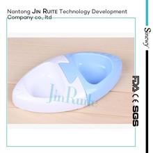 eco-friendly durable detachable plastic pet bowls