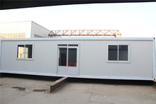 Low cost flat pack multi 40ft prefabricated container house for dormitery
