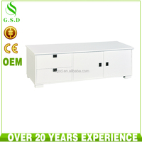 wholesale high quality cheap wood tv cabinet wall unit design