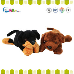 Good quanlity two dog toys for baby gift