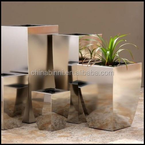 moderno al por mayor especial irregular forma decorativa de plata