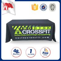 Customized Oem Company Logo And Size Printed Non Slip Tablecloth