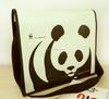 Customized logo print Cheap pp shoulder bag