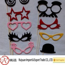 Party Favor Event & Party Item Type and Event & Party Supplies Type funny felt photo props