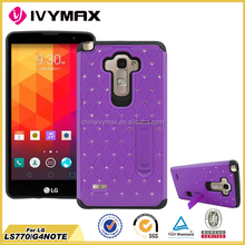 Full protective hard pc cover for LG LS770 mobile phone case