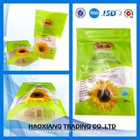 food grade plastic sunflowers logo bag sunflower seed market price