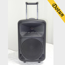 10 Inch Plastic Active Trolley Battery Rechargeable Portable Speaker