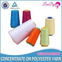 40 3 Chemical resistance semi dull spun polyester sewing thread