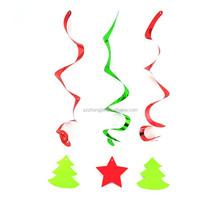 2015 Christmas tree Christmas foil hanging decoration