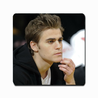 Top quality New Personalized 3D printed Customized Mouse Pad DIY Star Paul Wesley Photo Durable Rubber Mouse Mat SD1019