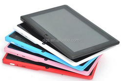 Best Selling Tablet PC Allwinner A33 7inch Touch Screen Q8 Tablet PC With Bluetooth Android 4.4 512MB 4GB/GB Memory Tablet