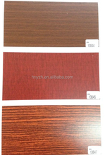 Heat transfer decal wood grain used for pvc panel