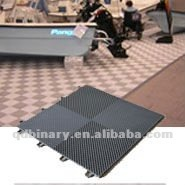 Durable stylish synthetic running track