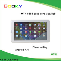 Hot selling 7 inch dual core adults games free download tablet pc