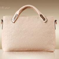 2015 latest famous brand name lady leather handbag