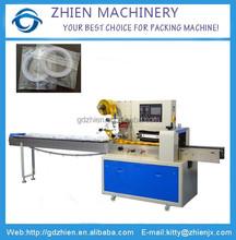 ZE-350X horizontal stationery plastic bag pillow packing machine